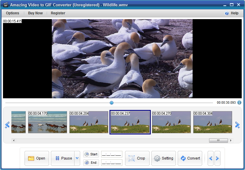 "Amazing Video to GIF Converter – 将视频转换为 GIF 图片丨""反""斗限免"